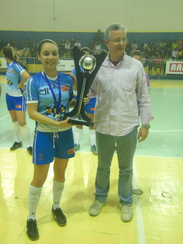 Entrega de troféu ao time infantil de Matias Barbosa