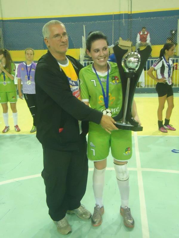 Entrega de troféu ao time infantojuvenil de Matias Barbosa