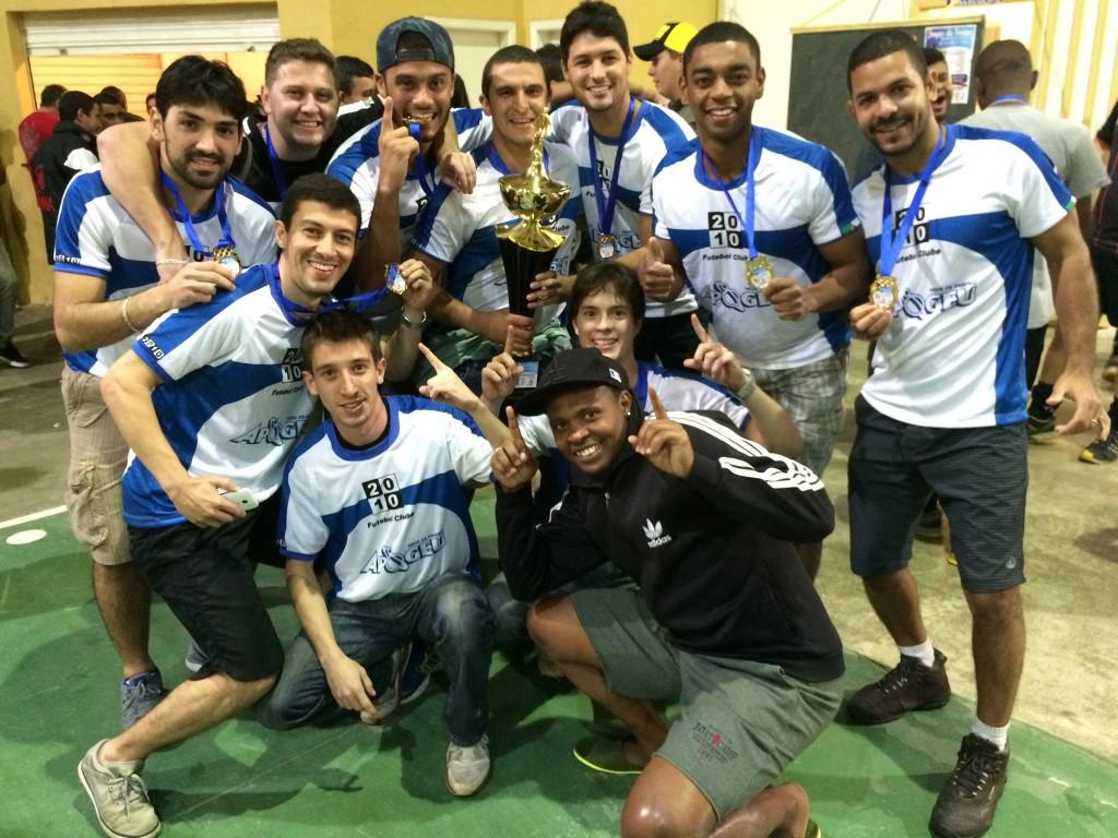 2010/Apogeu campeão do Torneio de Inverno de Chácara 2015 (Foto: Divulgação)