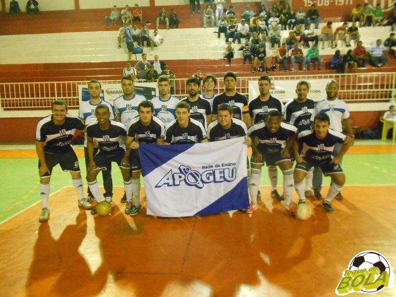 Equipe 2010/Apogeu: título adulto da Copa Prefeitura Bahamas de Futsal 2015  (Foto: Arquivo Toque de Bola)
