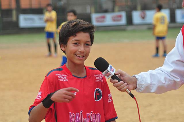 Autor do gol 30 mil da Copa, Lorhan Saturno, do Racionais Nova Era, colocou seu nome nos 23 anos de competição