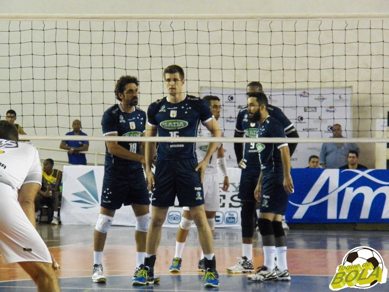 Sada Cruzeiro contou com base bicampeã da Superliga em quadra