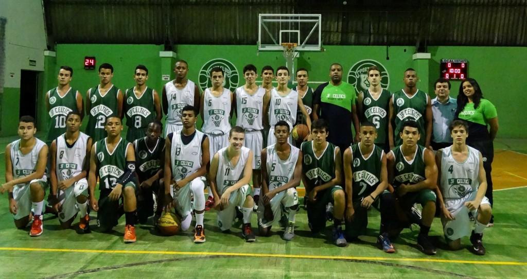 No sub-17, JF Celtics tem duas equipes na competição