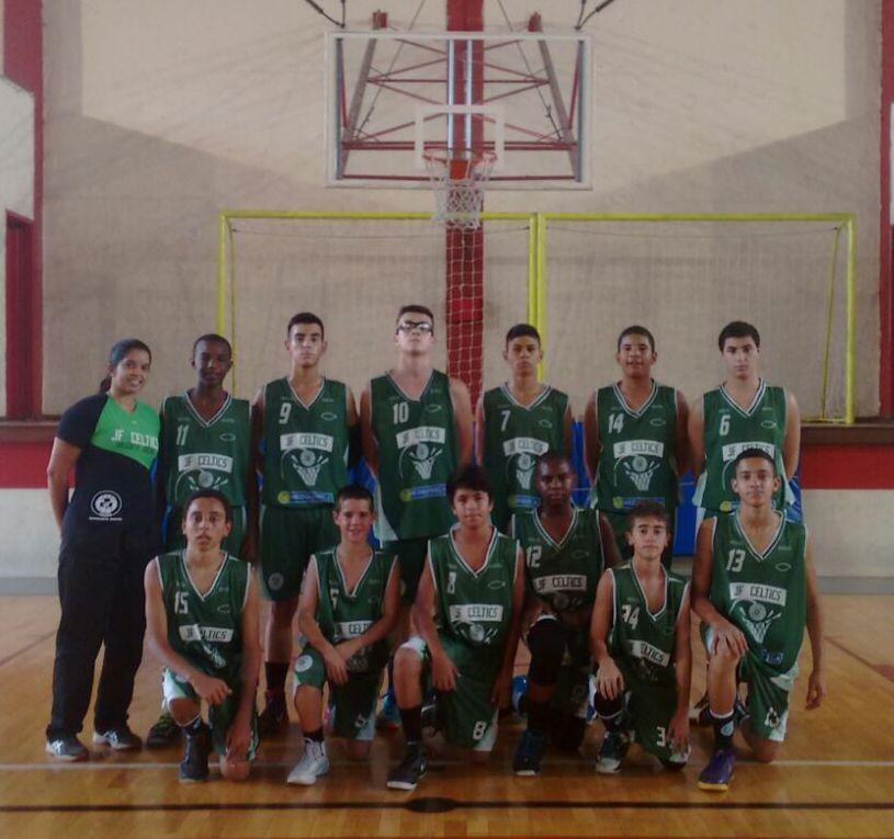 Equipe sub-14 do JF Celtics