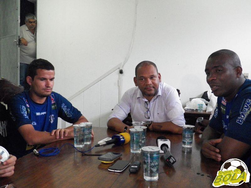 Osmar, Cloves Santos e Glaysson garantiram que aumento do preço dos ingressos foi solicitação de atletas na volta de Alagoas à Juiz de Fora