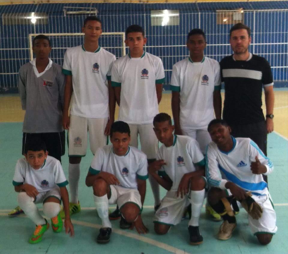 Gol de Placa Guarará sub-15 (Foto: Divulgação)