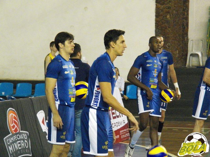Andre Nascimento (primeiro plano) e Rodrigo (esquerda) são peças importantes do Moquê