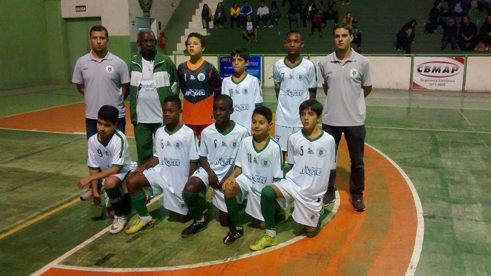 Sport Club/Apogeu sub-13 (Foto: Divulgação)