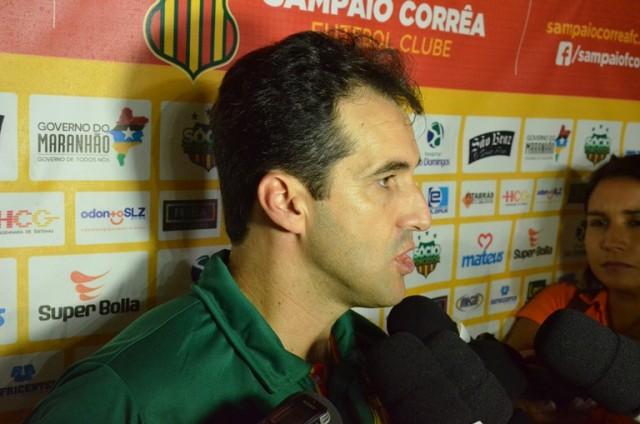 Técnico Leo Condé vem realizando ótima campanha pelo Sampaio principalmente diante do torcedor tricolor