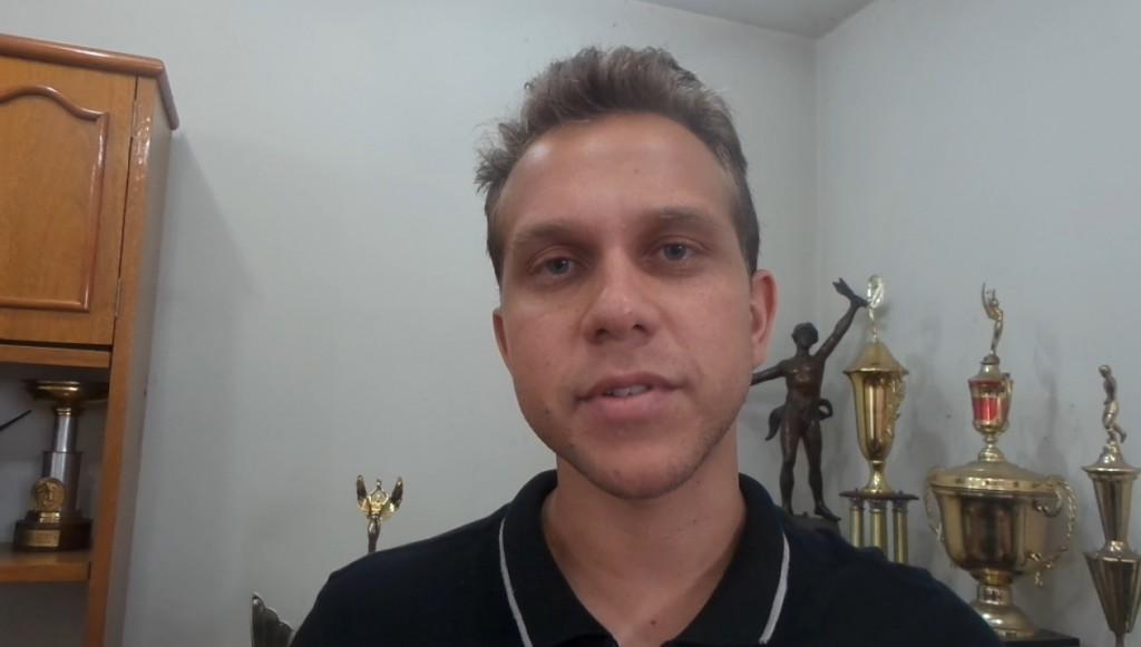 João Felipe Boaventura: analista de desempenho foi apresentado junto com o novo técnico, Júnior Lopes