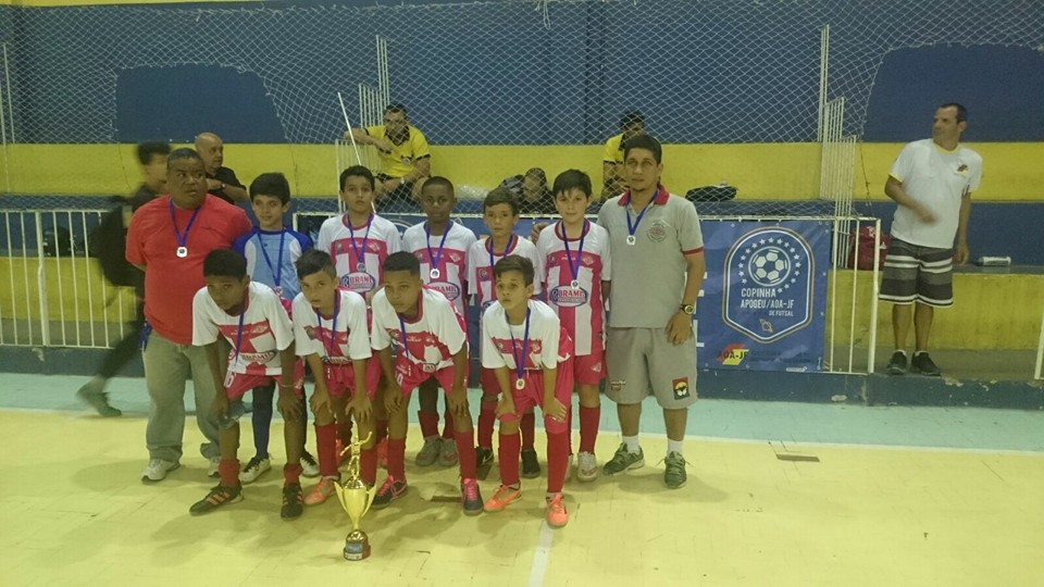 CAER Três Rios vice-campeão sub-11