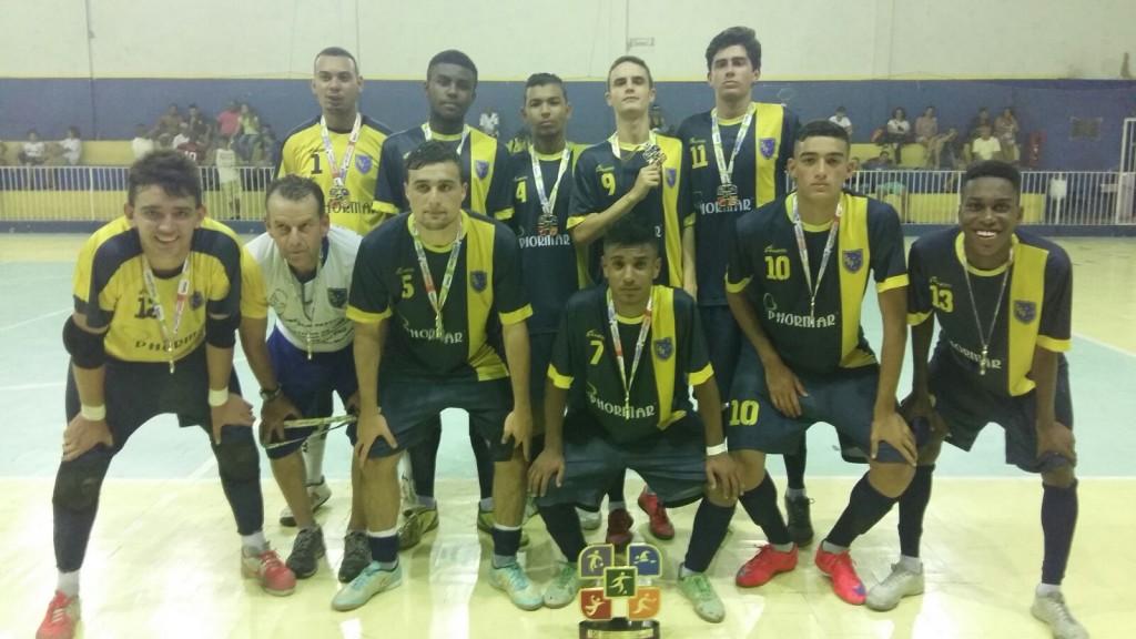 Clube Bom Pastor - Campeão no Futsal Sub 17 da Copa Sesc 2015