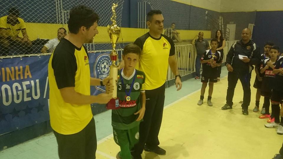 Eggon Gabriel, capitão do Sport sub-11