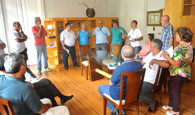 Em reunião no final da manhã desta sexta, vereadores promteram empenho diante da questão levantada pelo Panathlon Club Juiz de Fora