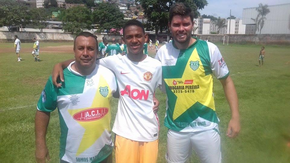 Walmir de Lima, Guilherme e Bruno Piuí, trabalho de base no Bonsucesso