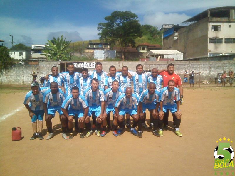 Unidos da Serra, campeão da categoria Veterana da Copa Camisa 12 2016