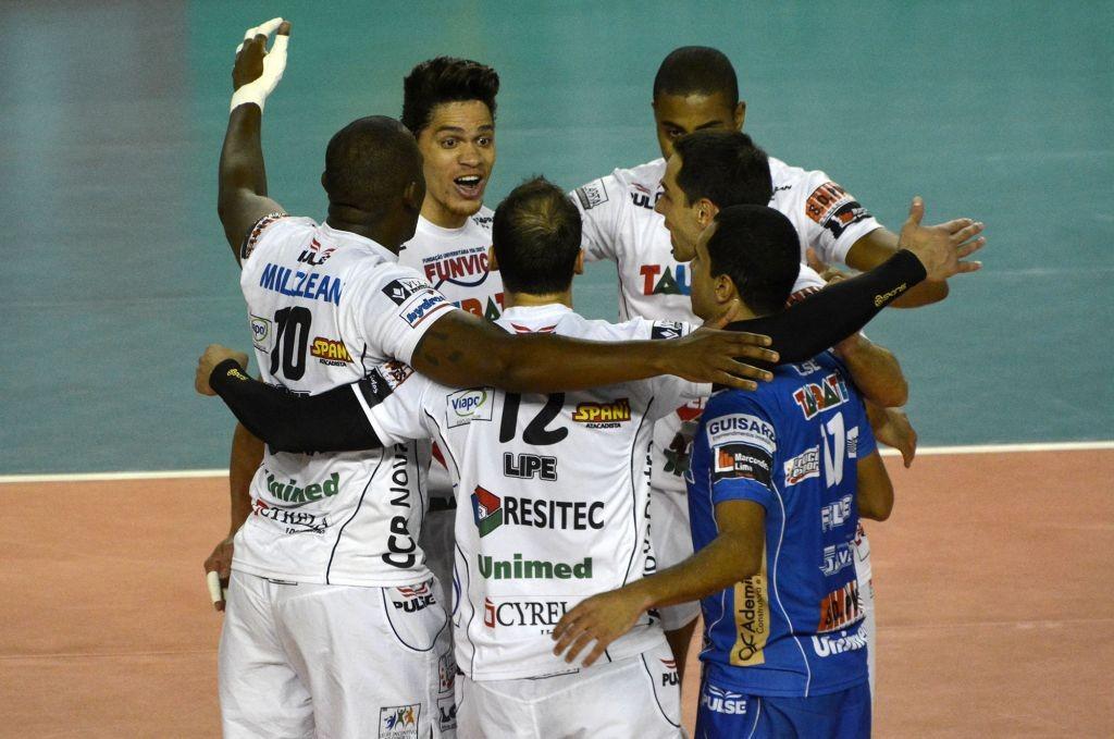 Funvic Taubaté segue em busca do título inédito da Superliga (Foto: CBV)