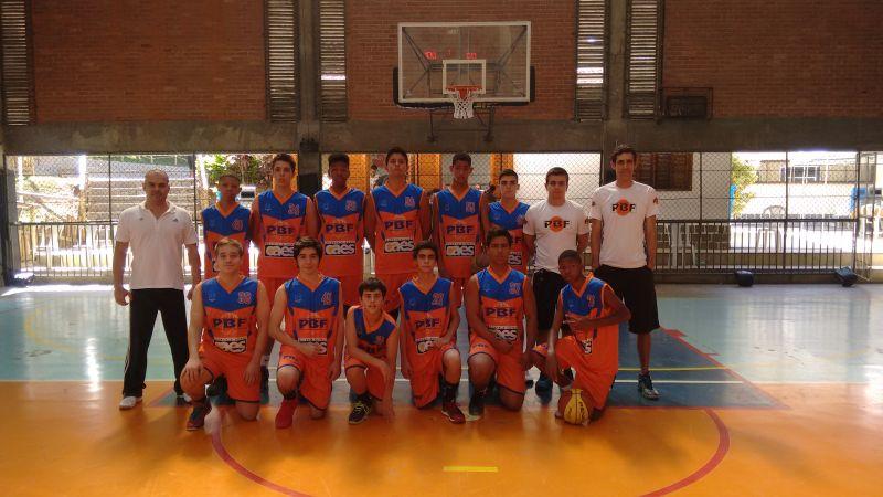 Equipe sub-16 do PBF/Geração Campeã (Foto: Divulgação)