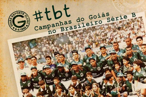 Três acessos e dois títulos: veja como foram as quatro participações do Goiás no Brasileirão da Série B