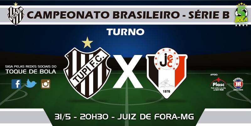 Com novo capitão e desfalques, Tupi busca segunda vitória contra o Joinville. Siga pelo Toque de Bola