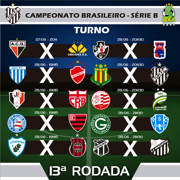 13A RODADA_TUPI CAMPEONATO BRASILEIRO SERIE B INSTAGRAM cópia 2