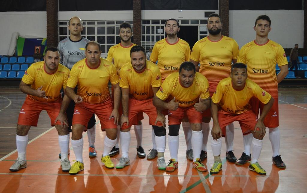Equipe de futsal da Campo Bom