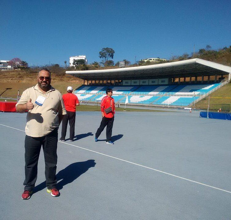 """Presença das delegações olímpicas muda ambiente na UFJF:  """"Conhecimento diferenciado"""", destaca Toledo"""