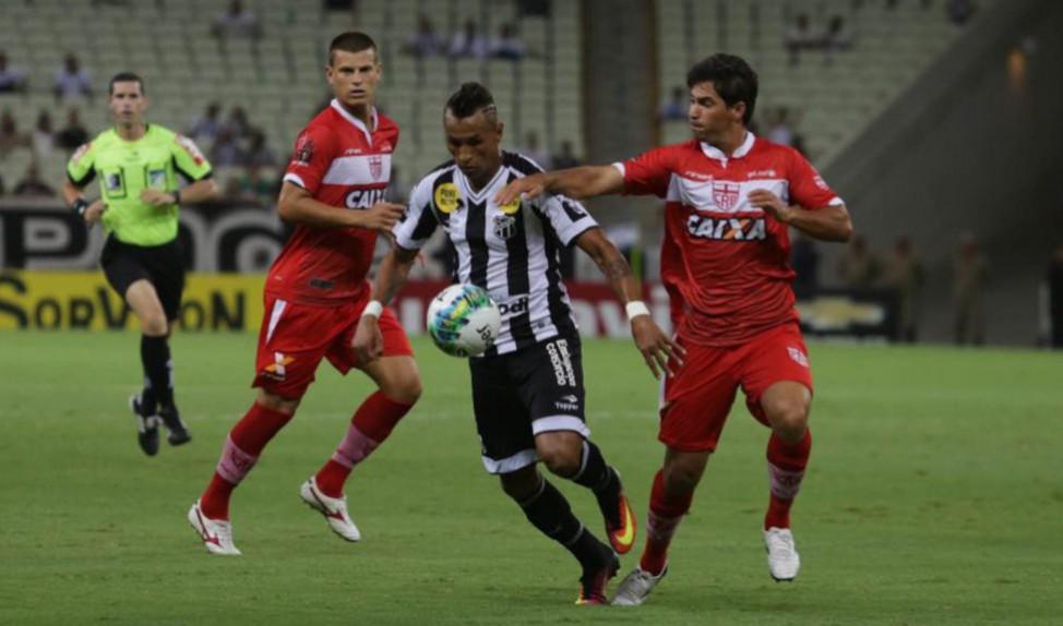Ceará e CRB ficaram no 1 a 1