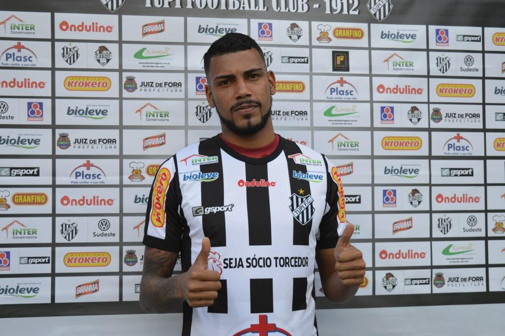Rodrigo Lobão foi apresentado oficialmente pelo Tupi