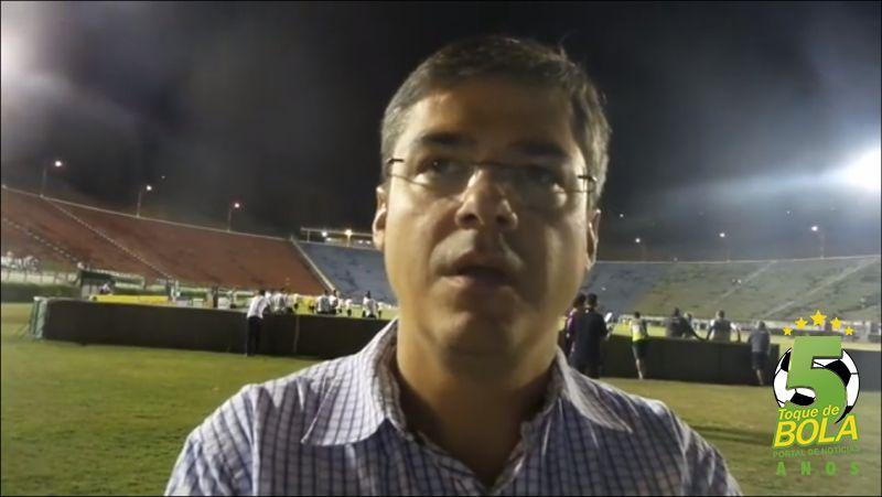 Gustavo Mendes falou com o Toque de Bola antes da partida contra o Londrina