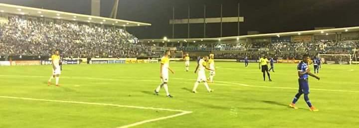 CSA e Voltaço empataram em 0 a 0 na primeira partida (Foto: Divulgação CSA)