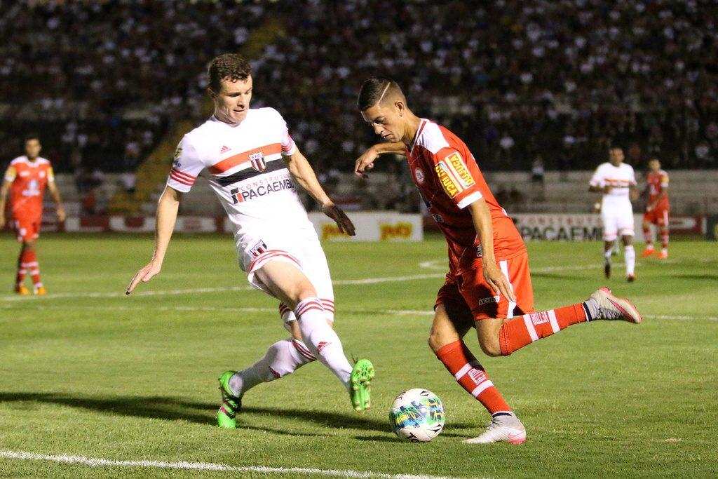 Tombense perdeu para o Botafogo-SP por 1 a 0. (Foto: Rogério Moroti / Divulgação Botafogo-SP)