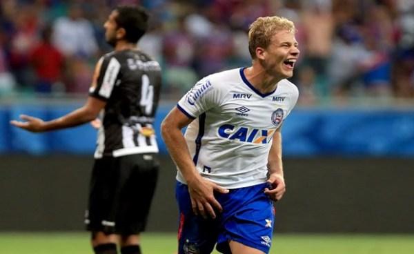 Bahia não teve dificuldades para vencer o Tupi na Fonte Nova