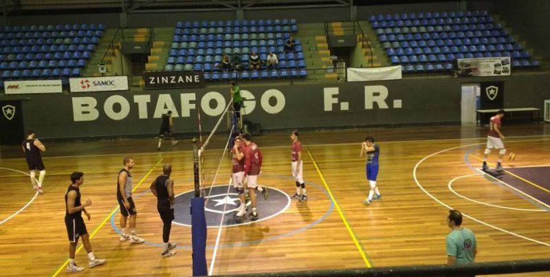 Botafogo venceu JF Vôlei por 3 sets a 1 (Foto: Divulgação JF Vôlei)