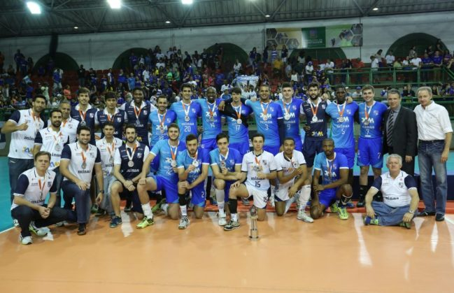 Minas ficou com o vice-campeonato mineiro em 2016 (Foto: Orlando Bento/Minas Tênis Clube)
