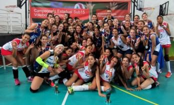 Estadual Sub-15  de Vôlei Feminino em JF: Praia Clube campeão, premiação com surpresas e convocação da seleção