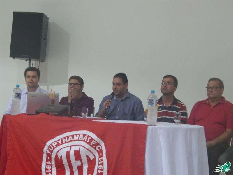 """Alberto Simão garante: """"Projeto não tem volta. O Tupynambás vai estar na primeira divisão de Minas"""""""