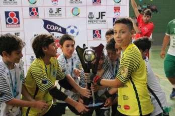 Sport Club Juiz de Fora: campeão Pré-Mirim da Copa Prefeitura Bahamas de Futsal 2017