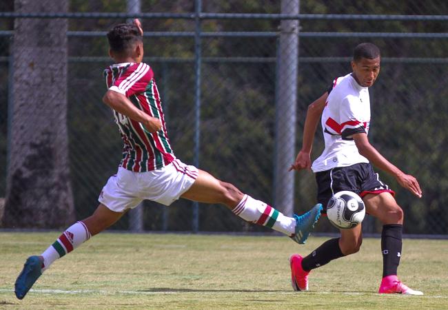 92c9afd382 Fluminense e São Paulo irão se reencontrar ma Taça BH Sub-17