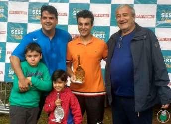 Professor José Antonio Bara Miguel comandou a premiação na manhã de domingo, último dia de competição da modalidade