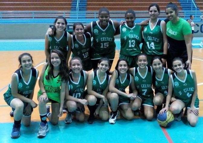 Com virada espetacular, meninas do JF Celtics conquistam bronze no Estadual Sub-15 de basquete
