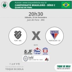 """Leandro Brasília convoca a torcida do Tupi: """"Peço que venha nos apoiar, que acredite"""""""