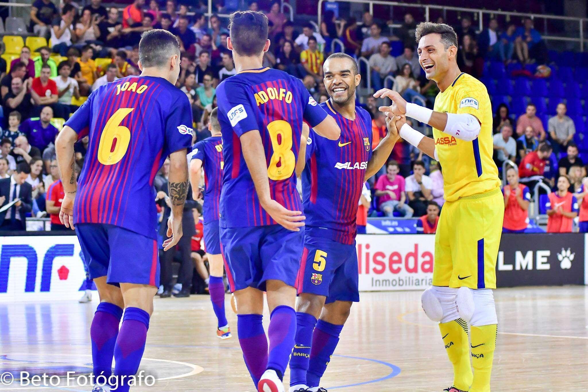 Barça Futsal, do juiz-forano Leo Santana, tem jogo com transmissão anunciada para o Brasil