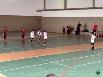Escolinhas de Flamengo e Vasco em ação na 5ª Copa Toque de Bola de Futsal