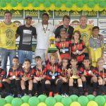 Escola Oficial do Flamengo vice-campeão sub-9