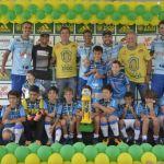 Centro de Futebol Zico campeão sub-9
