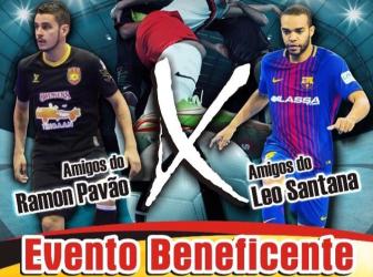 Futsal solidário! Léo e Ramon promovem jogo beneficente no Sport