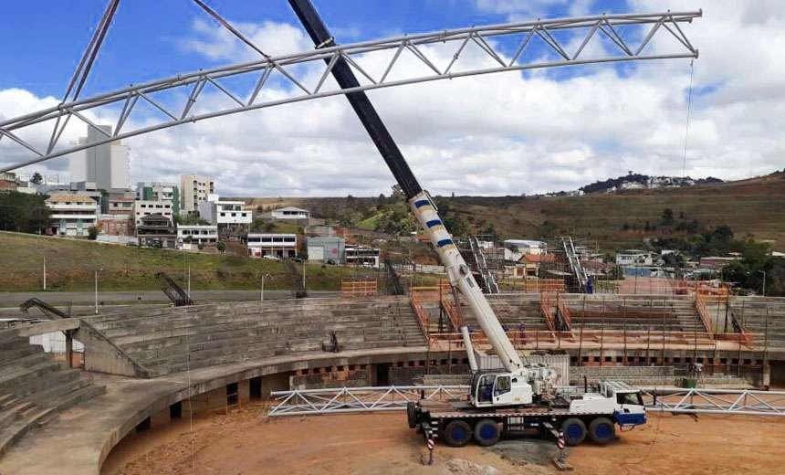 Ginásio Poliesportivo: PJF anuncia retomada de obras