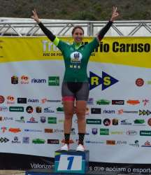 Erica Abramo venceu entra as sprinters