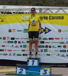 Paula Almeida venceu a prova feminina